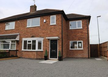 Thumbnail 3 bed semi-detached house for sale in Kings Drive, Leicester Forest East