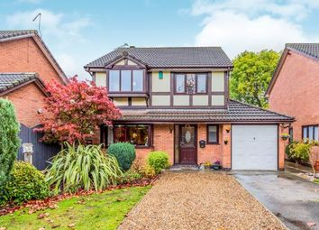 Thumbnail 4 bed detached house for sale in Firbeck Gardens, Crewe, Cheshire