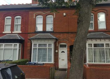 Thumbnail 3 bedroom terraced house to rent in Antrobus Road, Handsworth, Birmingham