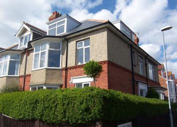 Thumbnail 3 bed flat to rent in Selsey Avenue, Southsea