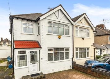 Thumbnail 3 bed semi-detached house for sale in Wills Crescent, Whitton TW3,