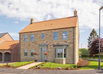 Thumbnail 5 bed detached house for sale in Knaresborough Road, Bishop Monkton, North Yorkshire