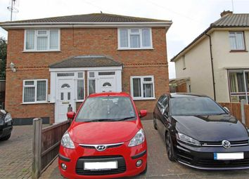 Thumbnail 2 bedroom semi-detached house for sale in Droitwich Avenue, Southend, Essex