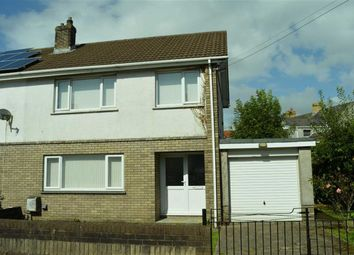 Thumbnail 3 bed semi-detached house for sale in Pengry Road, Swansea