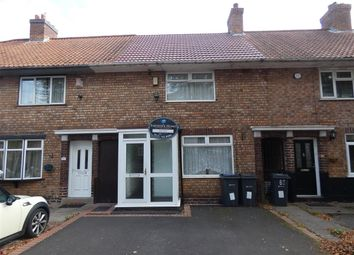 Thumbnail 2 bed terraced house to rent in Gospel Farm Road, Acocks Green, Birmingham