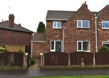 Thumbnail 3 bed semi-detached house for sale in Amersall Crescent, Doncaster