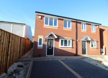 Thumbnail 3 bedroom semi-detached house for sale in Plot 1 Clarence Street, Dinnington, Sheffield, South Yorkshire