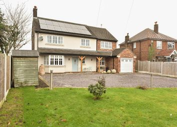 Thumbnail 4 bed detached house for sale in Smithy Brow, Croft, Warrington, Cheshire