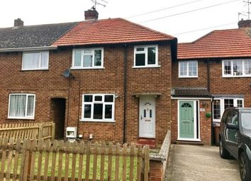 Thumbnail 3 bed terraced house for sale in Hall Mead, Letchworth Garden City, Hertfordshire, England