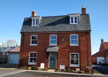 Thumbnail 4 bed detached house for sale in Lilly Lane, Greys Field, Chickerell