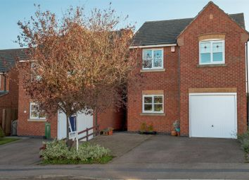 Thumbnail 3 bed detached house for sale in Crowson Close, Shepshed, Loughborough
