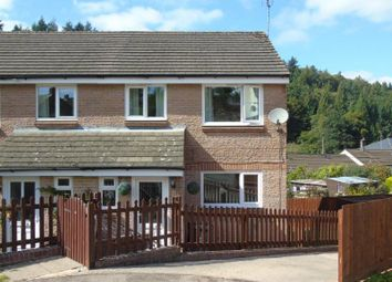 Thumbnail 3 bed semi-detached house for sale in Glover Close, Ruspidge, Cinderford, Gloucestershire
