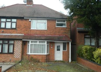 Thumbnail 3 bed semi-detached house to rent in Morden Road, Stechford, Birmingham