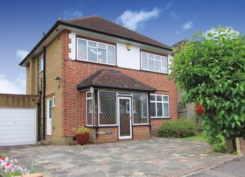 Thumbnail 4 bed detached house to rent in Barnhill, Pinner