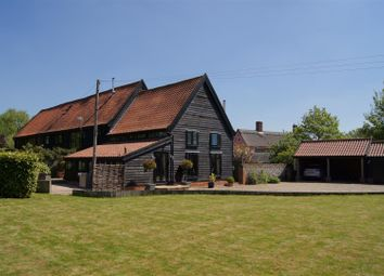 Thumbnail 3 bed barn conversion for sale in Market Weston Road, Thelnetham, Diss