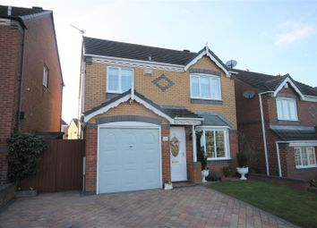 Thumbnail 3 bed detached house for sale in Deavall Way, Cannock