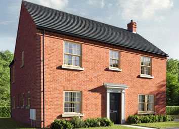 """Thumbnail 4 bed detached house for sale in """"The Kempthorne"""" at Central Avenue, Brampton, Huntingdon"""