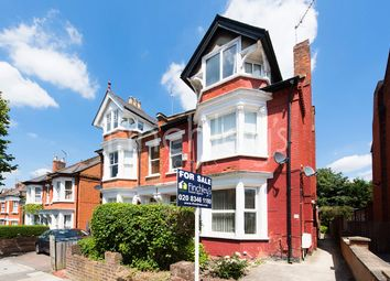 Thumbnail 1 bed flat for sale in Elm Park Road, London