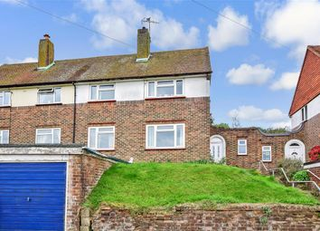 Thumbnail 2 bed semi-detached house for sale in Hurst Hill, Brighton, East Sussex