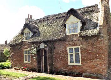 Thumbnail 3 bed cottage for sale in Sutton Crosses, Long Sutton, Spalding