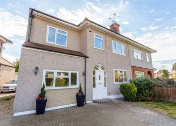 Thumbnail 4 bedroom semi-detached house for sale in Victoria Avenue, Collier Row, Romford