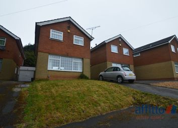 Thumbnail 3 bed detached house to rent in Doulton Close, Quinton, Birmingham
