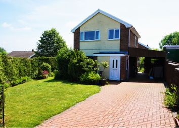 Thumbnail 3 bed detached house for sale in Fronheulog Hill, Bwlchgwyn