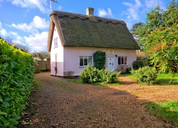 Thumbnail 3 bedroom detached house for sale in The Green, Weston Colville, Cambridge