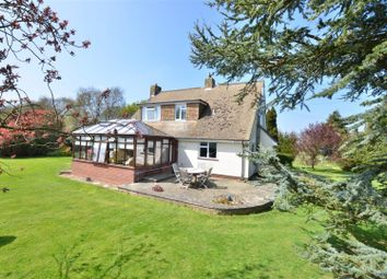 Thumbnail 3 bedroom equestrian property for sale in Abbey Road, Hougham, Dover