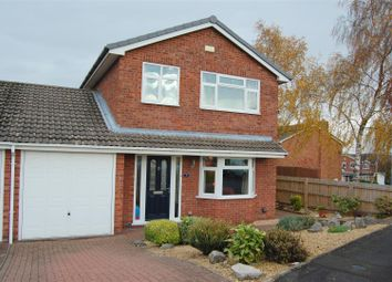 Thumbnail 3 bed detached house for sale in Longhurst Drive, Stafford