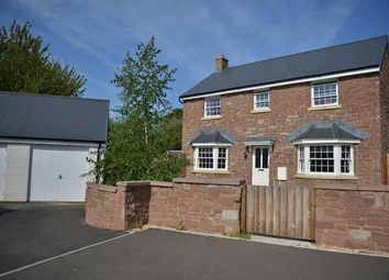 Thumbnail 4 bed detached house to rent in Crawshay Bailey Close, Gilwern