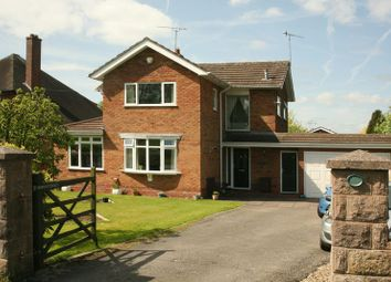 Thumbnail 3 bed detached house for sale in Green Lane, Eccleshall, Staffordshire