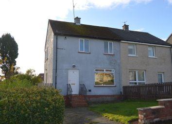 Thumbnail 2 bedroom semi-detached house for sale in Rathlin Terrace, Dumbarton
