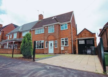Thumbnail 4 bed semi-detached house for sale in Wicklow Drive, Leicester