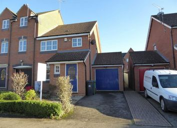 Thumbnail 3 bed town house to rent in Glendower Approach, Heathcote, Warwick