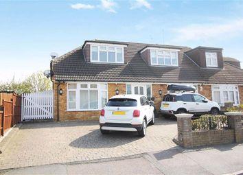 Thumbnail 4 bed semi-detached house for sale in Alderwood Drive, Abridge, Romford