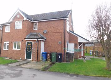 Thumbnail 1 bed flat for sale in The Heathers, Great Moor, Stockport