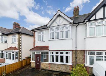 Thumbnail 3 bed semi-detached house for sale in Carlton Crescent, Sutton, Surrey