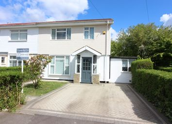 Thumbnail 4 bed semi-detached house for sale in First Close, West Molesey