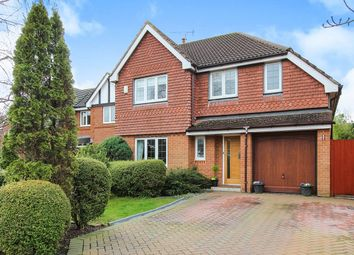 Thumbnail 4 bed detached house for sale in Hill Field Croft, Cabus, Preston