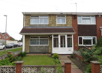 Thumbnail 4 bed semi-detached house for sale in Moorside Gardens, Walsall