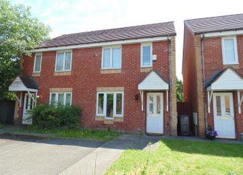 Thumbnail 2 bedroom semi-detached house for sale in Bluebell Croft, Erdington, Birmingham