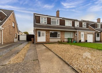 Thumbnail 3 bed semi-detached house for sale in Blackstone Close, Elburton, Plymouth.