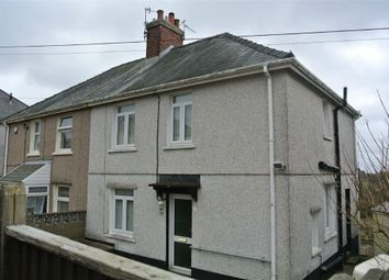 Thumbnail 3 bed semi-detached house for sale in Park Crescent, Penygarn, Pontypool
