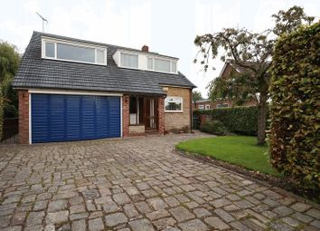 Thumbnail 4 bed detached house for sale in Manor Crescent, Macclesfield