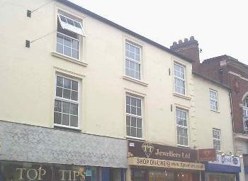 Thumbnail 1 bed flat to rent in Silver Street, Wellingborough