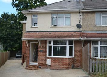 Thumbnail 2 bed maisonette to rent in Blackthorn Road, Southampton