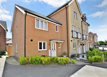 Thumbnail 3 bed end terrace house for sale in Petunia Avenue, Minster On Sea, Kent