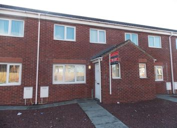 Thumbnail 3 bed terraced house to rent in Hirst Castle Mews, Ashington