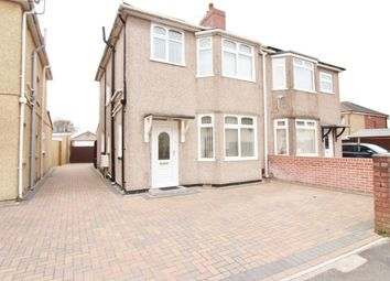 Thumbnail 3 bed semi-detached house for sale in Parfitt Street, Newport